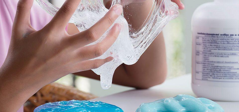Como hacer slime para jugar con los hijos