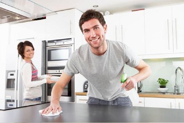 ¿Cómo limpiar la cocina correctamente?