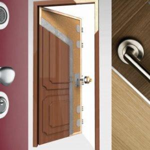 Puertas blindadas: Importancia del uso del metal